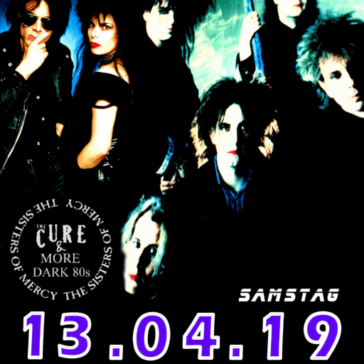 The Cure Sisters Night Luxor Köln 13.04.2019