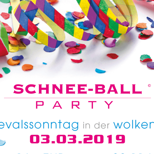Schneeballparty Wolkenburg 2019